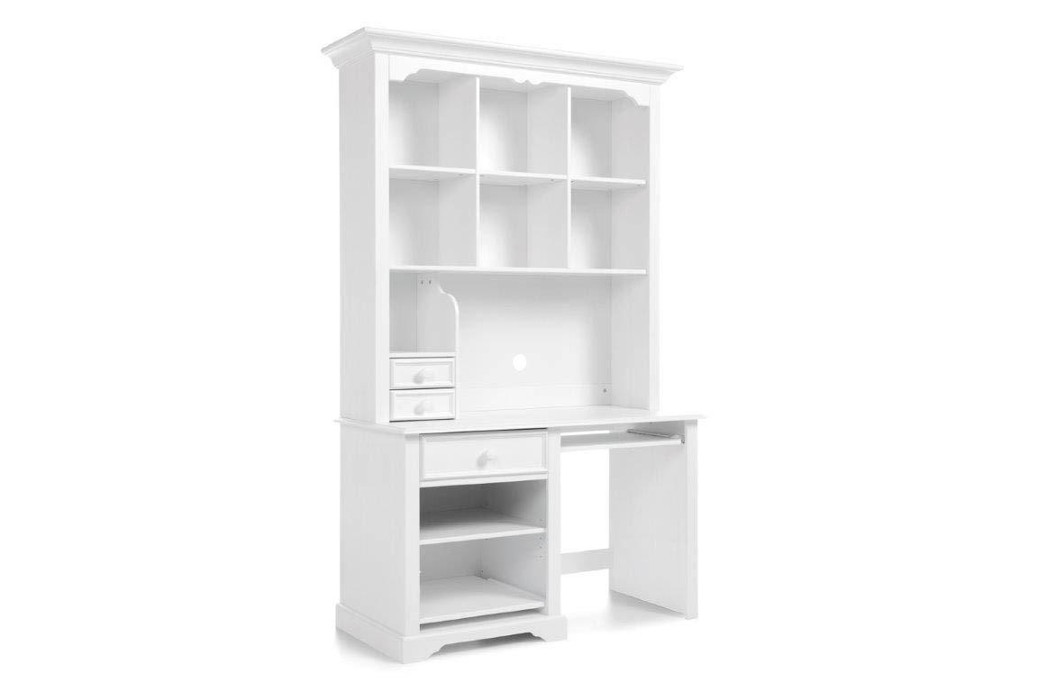 schlafkontor cinderella schreibtisch mit aufsatz wei. Black Bedroom Furniture Sets. Home Design Ideas
