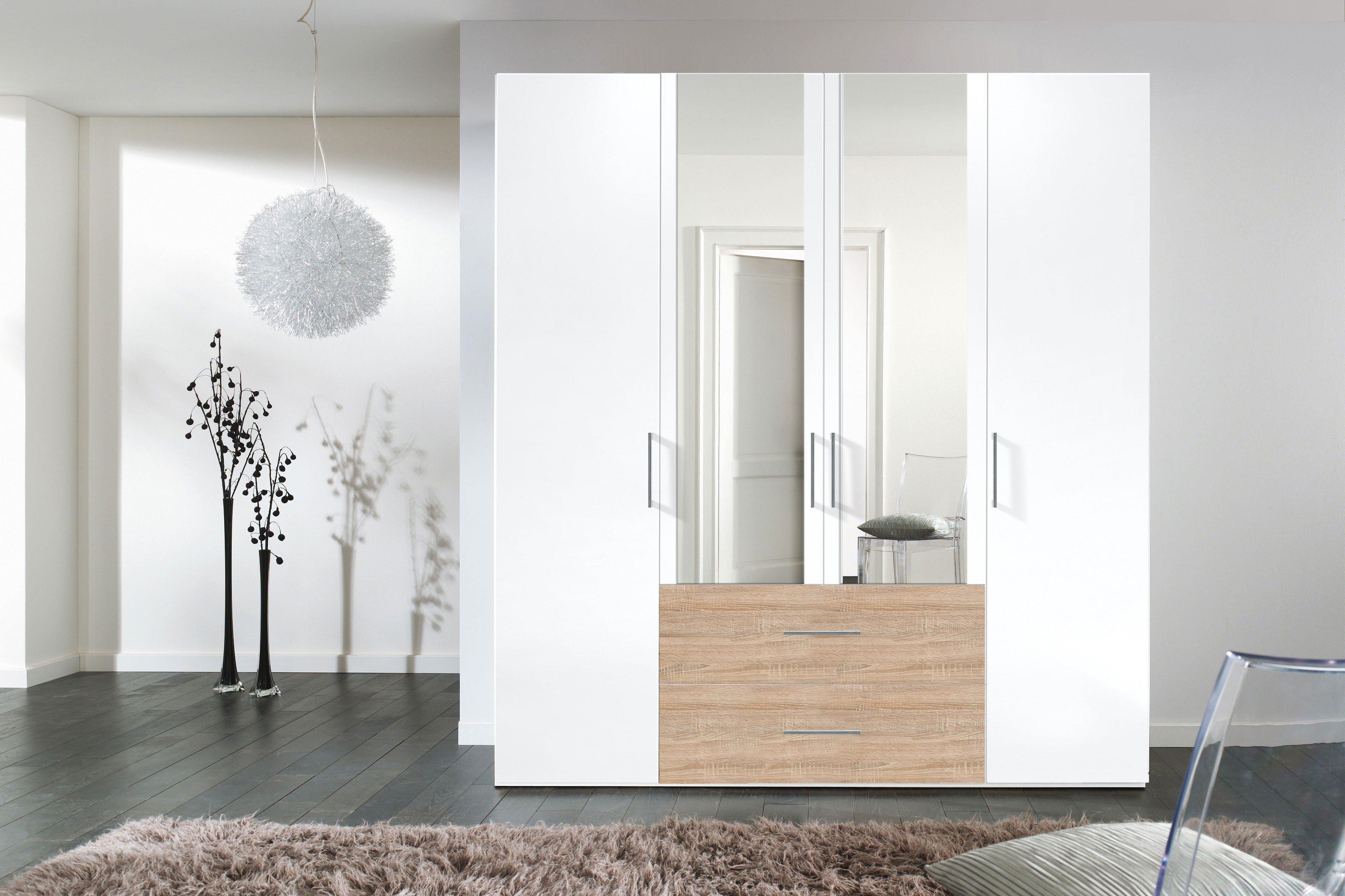 Exceptional Einfache Dekoration Und Mobel Individuelle Schraenke Made In Germany 2 #1: Brooklyn Von Express - Schrank Weiß Schubkästen Sonoma Eiche