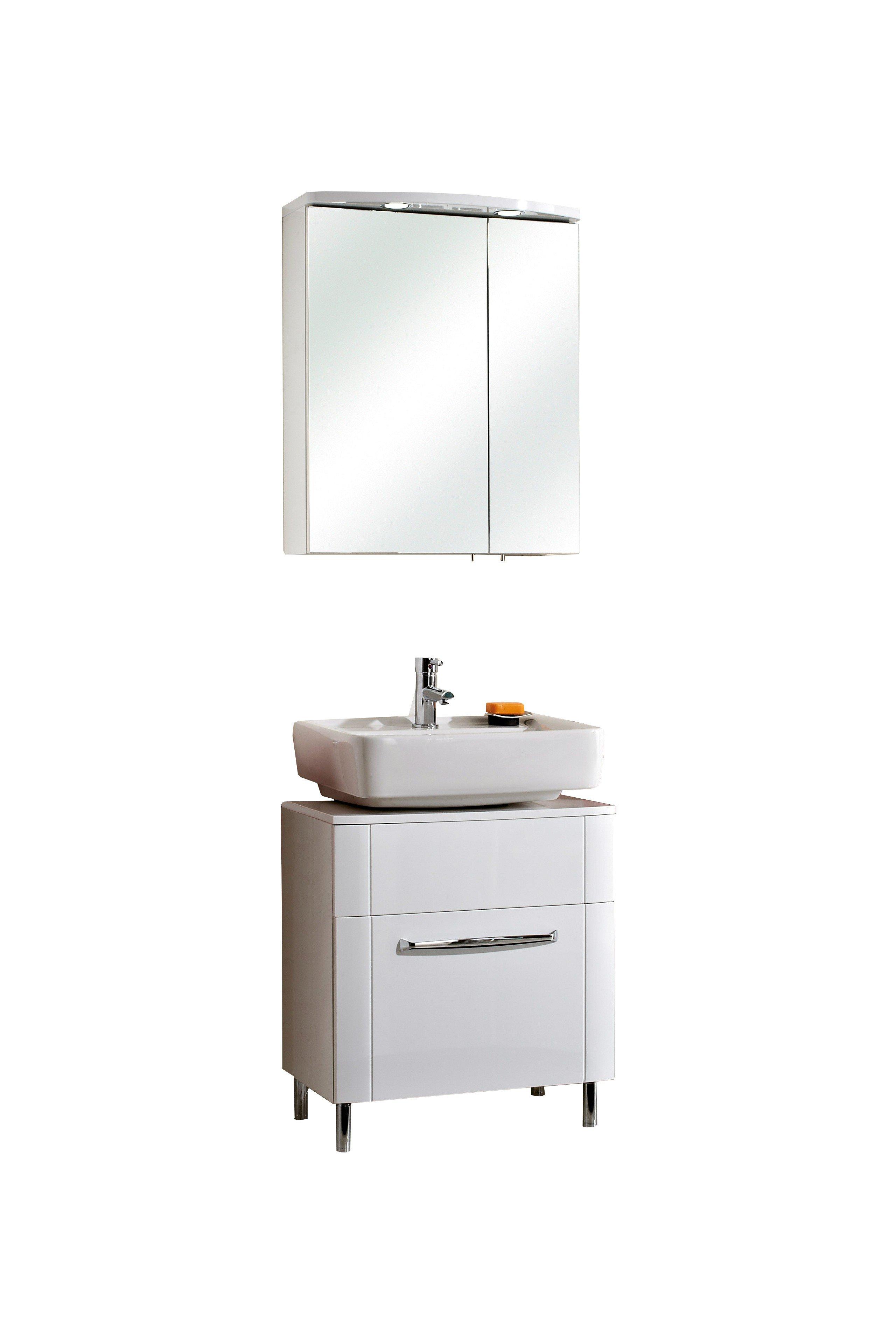 badezimmer fokus 3005 von pelipal in hochglanz wei m bel letz ihr online shop. Black Bedroom Furniture Sets. Home Design Ideas