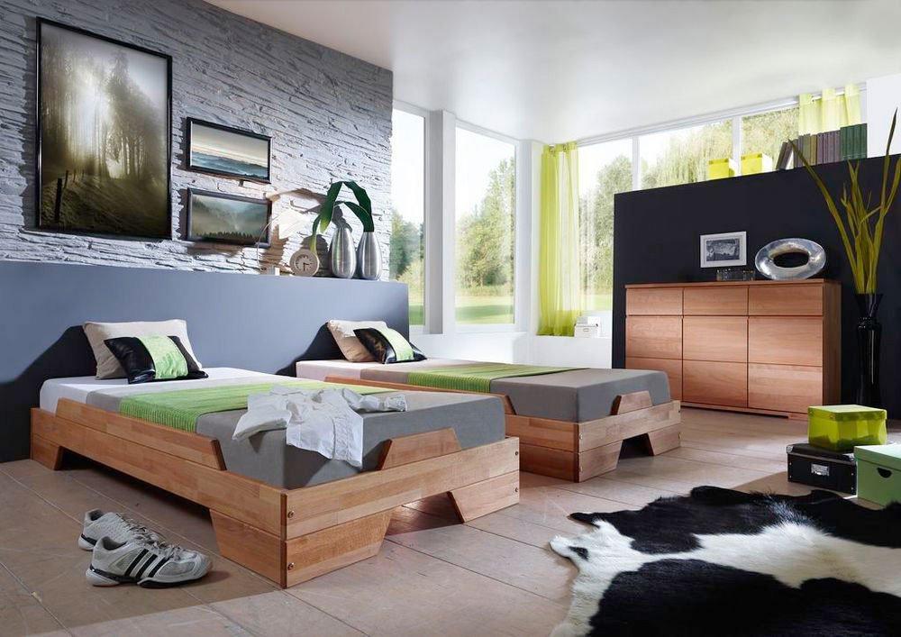 m h standard stapelbett 2er set buche m bel letz ihr online shop. Black Bedroom Furniture Sets. Home Design Ideas