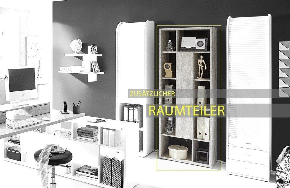 m usbacher mister office schreibtisch mit regal m bel letz ihr online shop. Black Bedroom Furniture Sets. Home Design Ideas