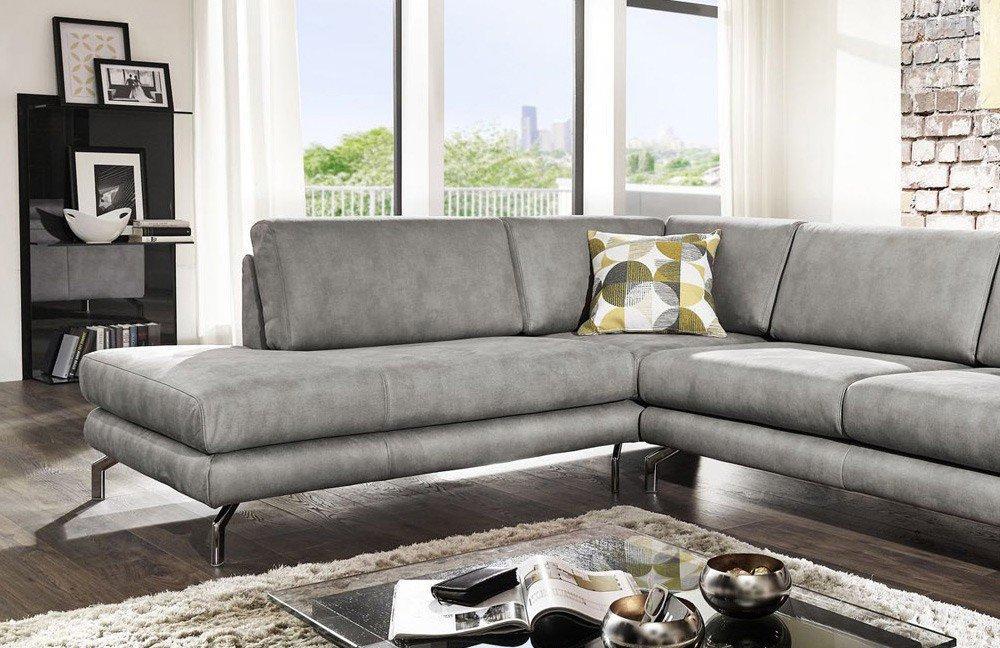 EMP Extasy 360 Eckgarnitur grau   Möbel Letz - Ihr Online-Shop