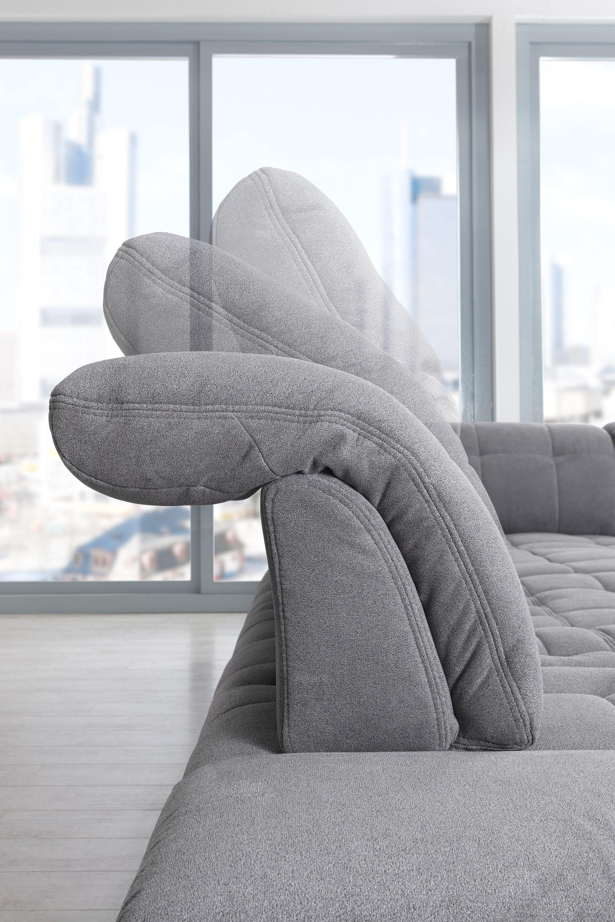 poco polsterm bel houston u f rmiges sofa in grau m bel letz ihr online shop. Black Bedroom Furniture Sets. Home Design Ideas