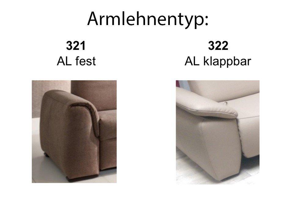EMP Comfysofa 321 / 322 Polstergruppe braun   Möbel Letz - Ihr ...