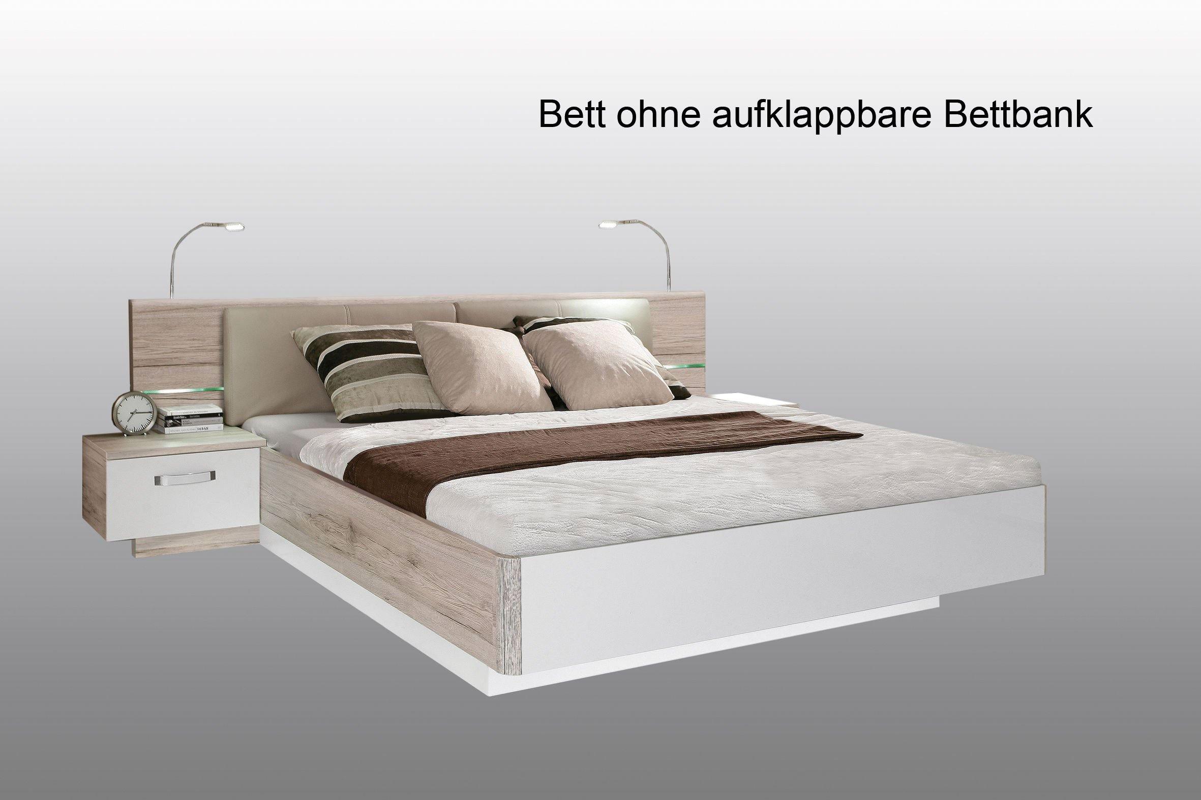 Rondino von Forte Schlafzimmer Beton-Optik - weiß | Möbel Letz ...