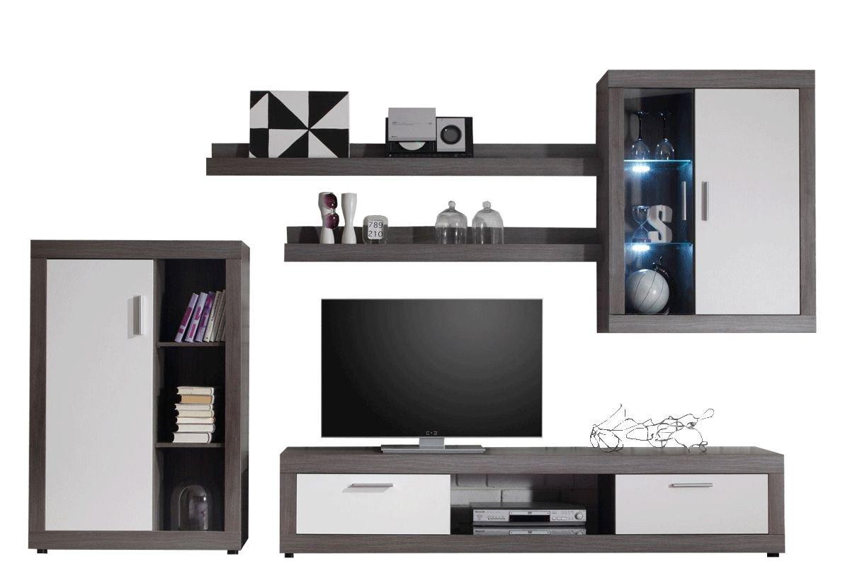 trendteam wohnwand ozean in rauchsilber m bel letz ihr online shop. Black Bedroom Furniture Sets. Home Design Ideas