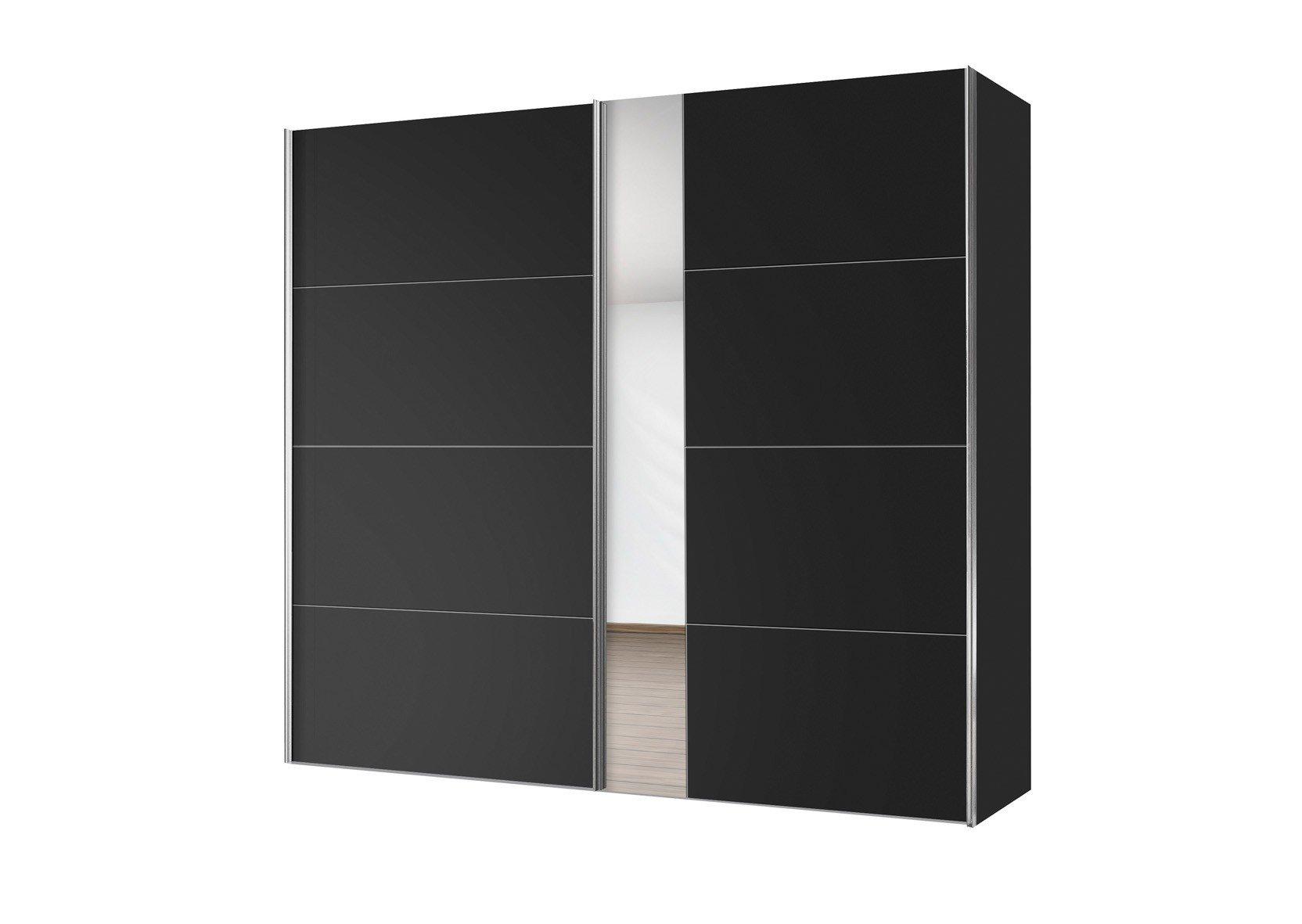 Schwebetürenschrank schwarz  Express Madrid Kleiderschrank schwarz | Möbel Letz - Ihr Online-Shop