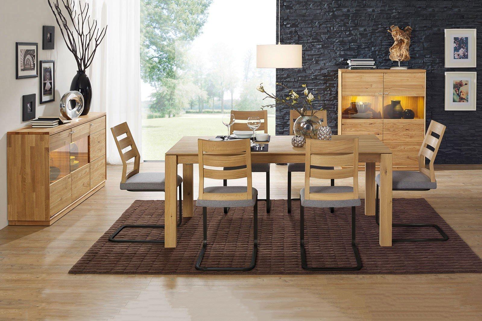dudinger esszimmer alexandra eiche wildeiche natur m bel letz ihr online shop. Black Bedroom Furniture Sets. Home Design Ideas