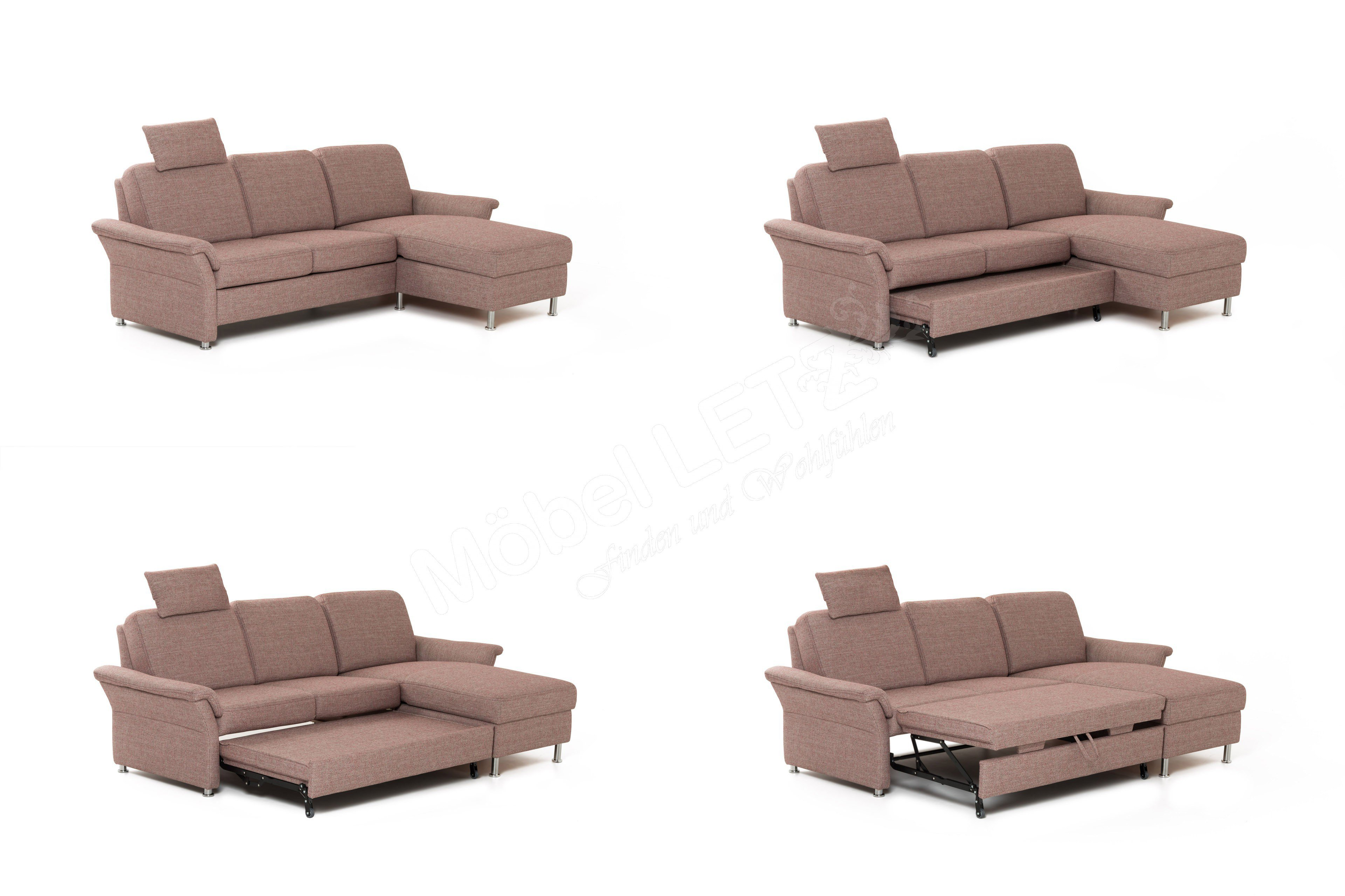 pm oelsa namo couchgarnitur in beige bordeaux m bel letz ihr online shop. Black Bedroom Furniture Sets. Home Design Ideas