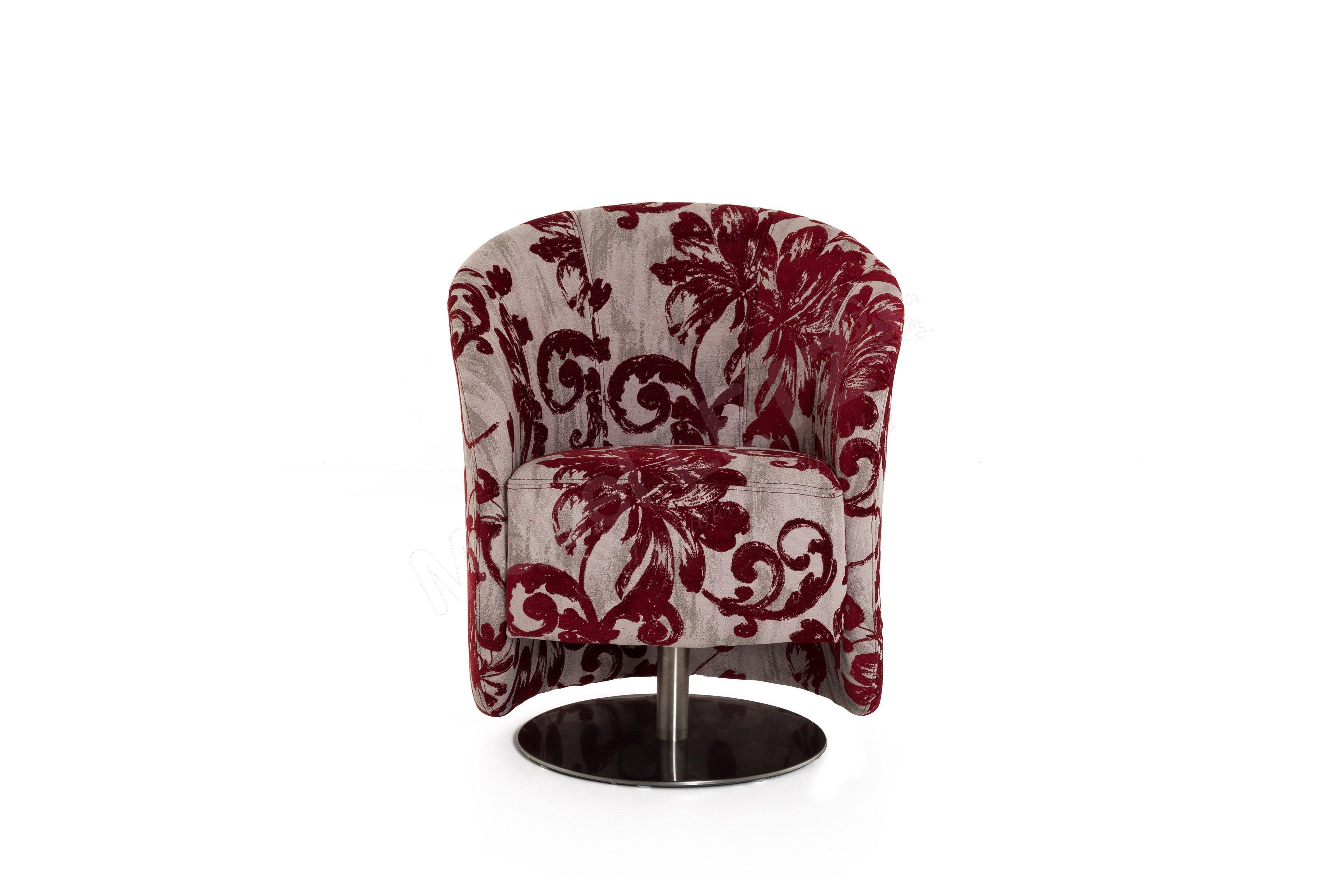 pm oelsa sylt einzelsessel in rot m bel letz ihr online shop. Black Bedroom Furniture Sets. Home Design Ideas