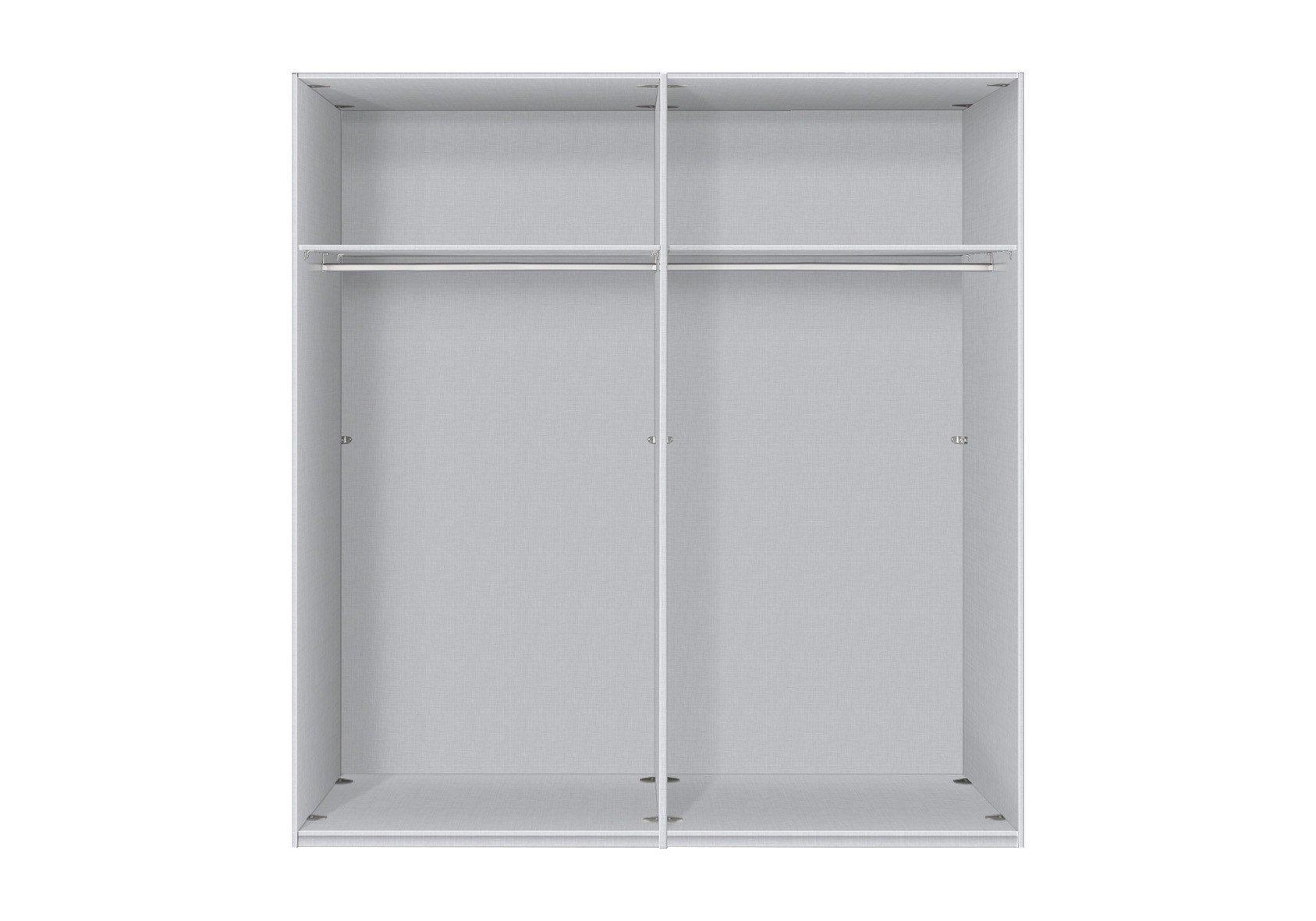 kleiderschrank schwarz madrid express m bel letz ihr online shop. Black Bedroom Furniture Sets. Home Design Ideas