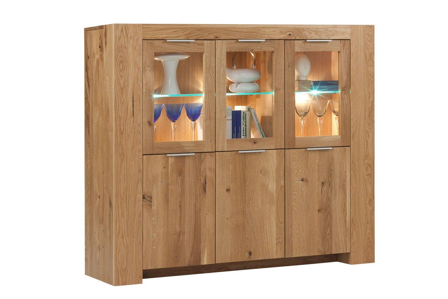 henke m bel highboard boston wildeiche natur m bel letz ihr online shop. Black Bedroom Furniture Sets. Home Design Ideas