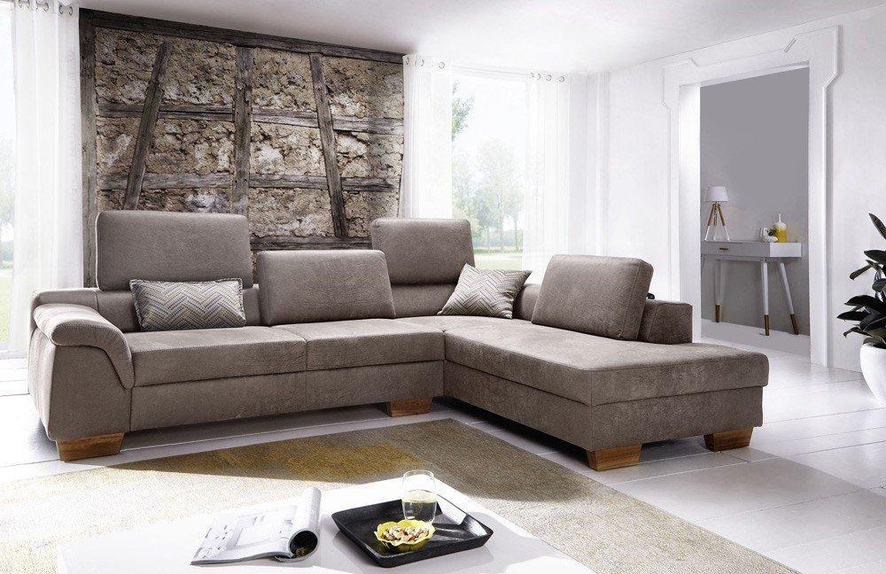 EMP Extasy 435 / 436 Eckgarnitur beige   Möbel Letz - Ihr Online-Shop