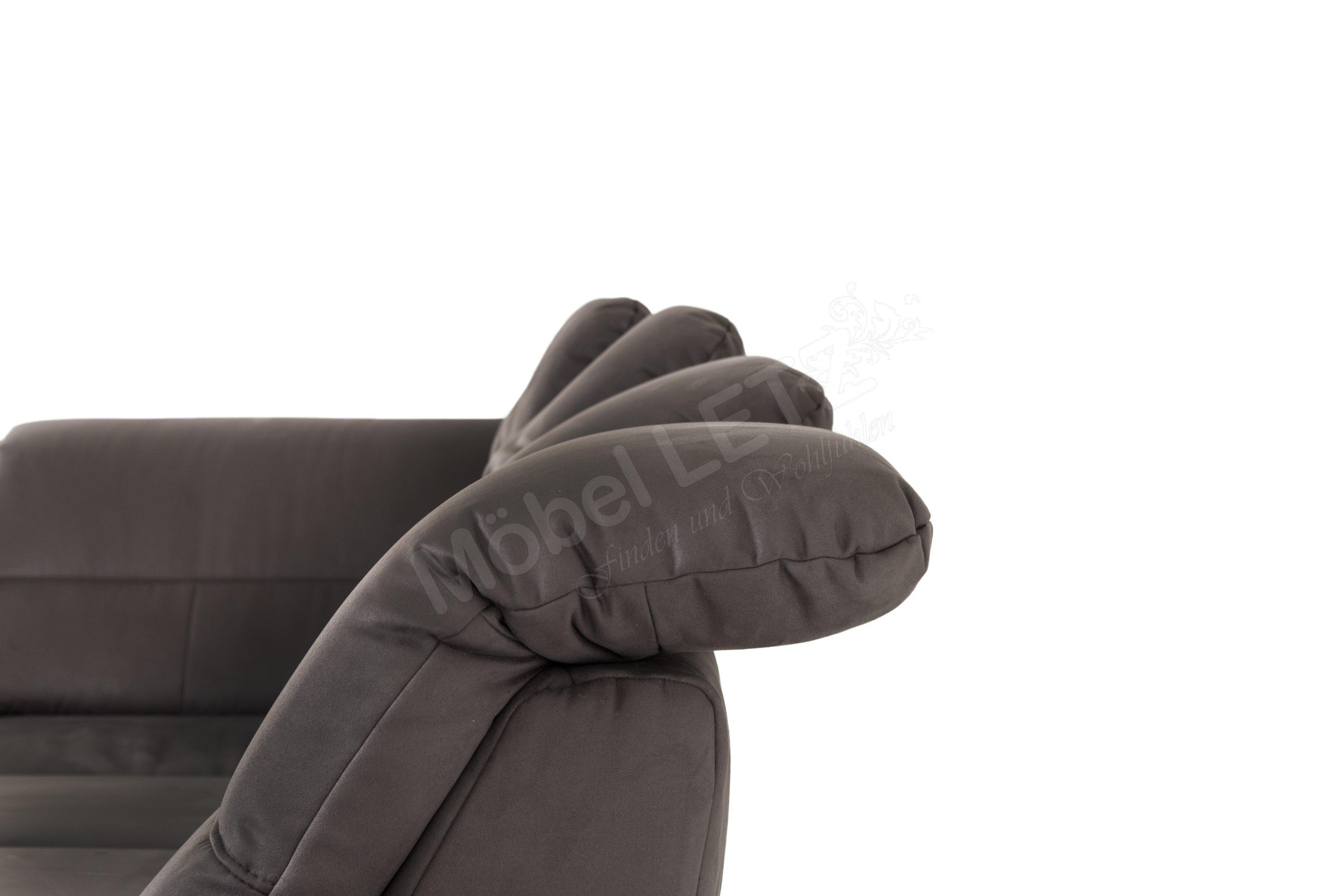 megapol polsterm bel daylight polstergarnitur grau m bel. Black Bedroom Furniture Sets. Home Design Ideas