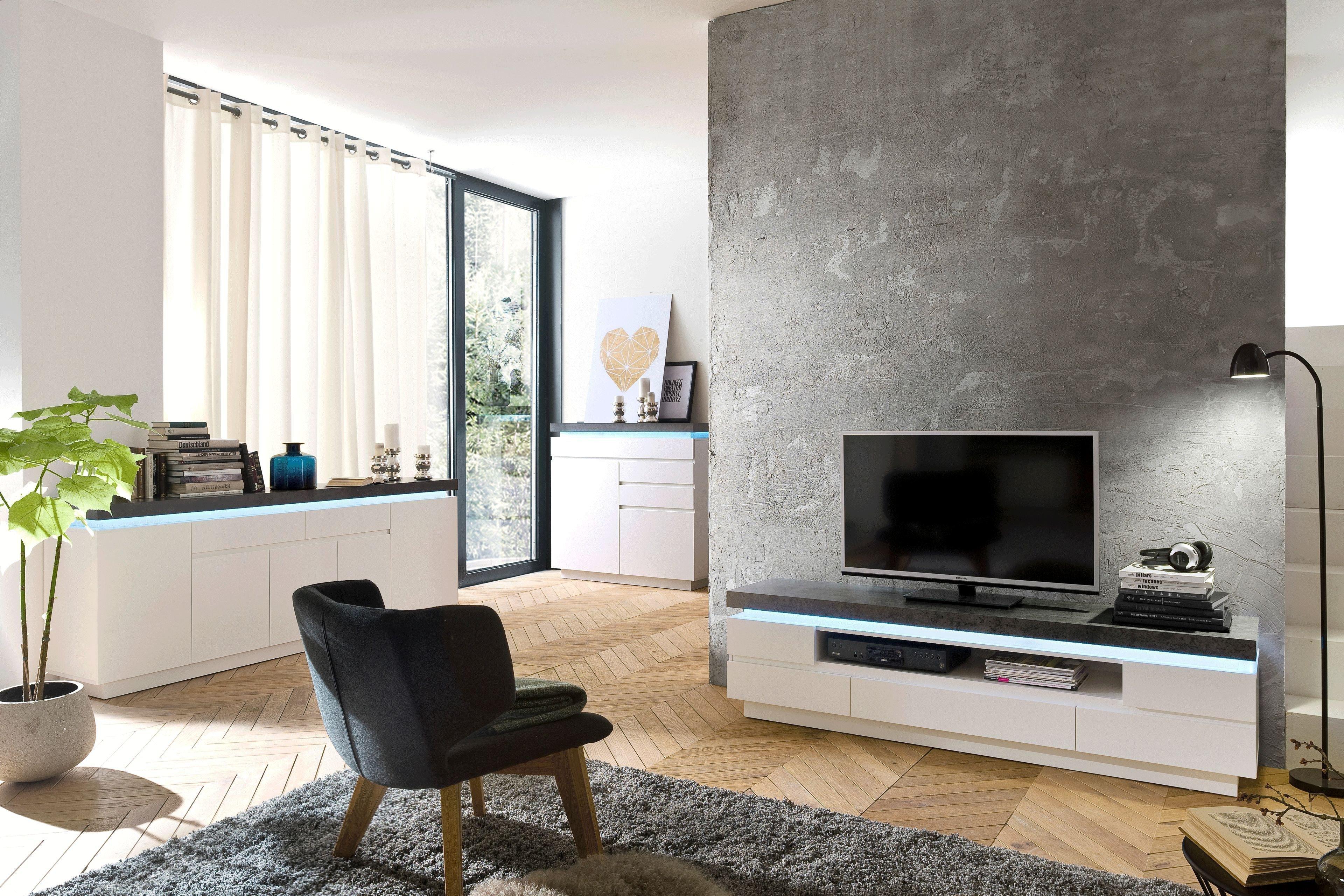 Innotrend By Mca Jinny Lowboard 48672wb1 In Weiss Beton Mobel Letz Ihr Online Shop