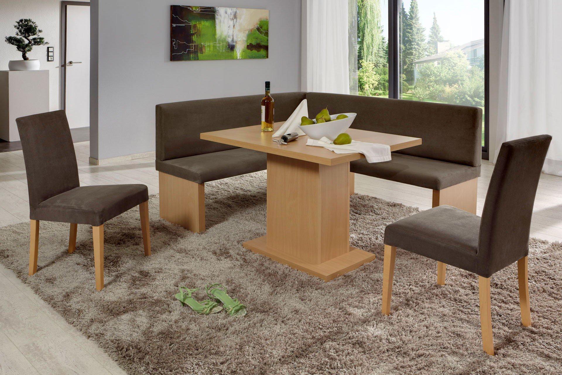 Charleen Von Top Form   Eckbankgruppe Buche Natur/ Beige Braun