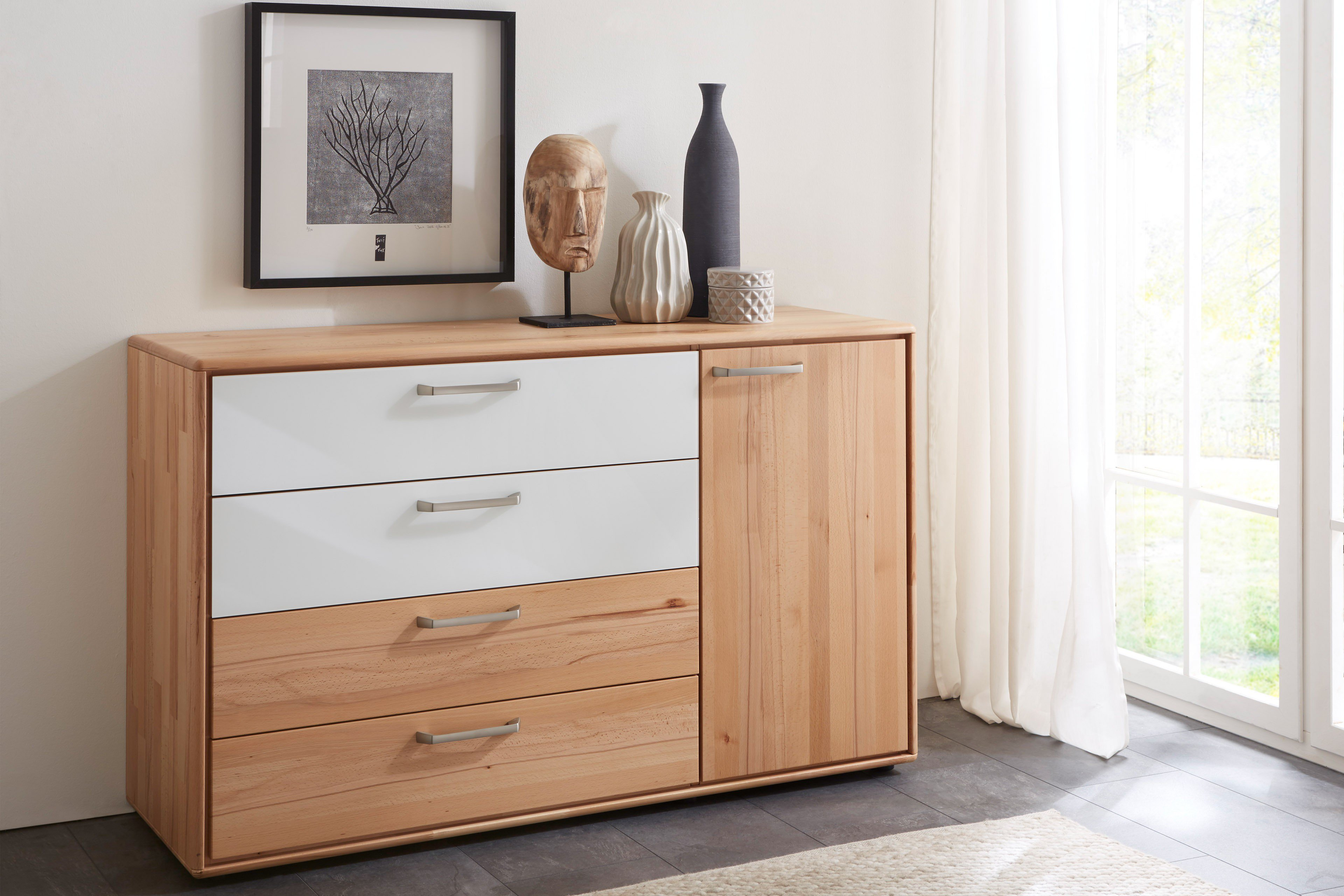 w stmann wsm 1900 kommode kernbuche massiv m bel letz. Black Bedroom Furniture Sets. Home Design Ideas