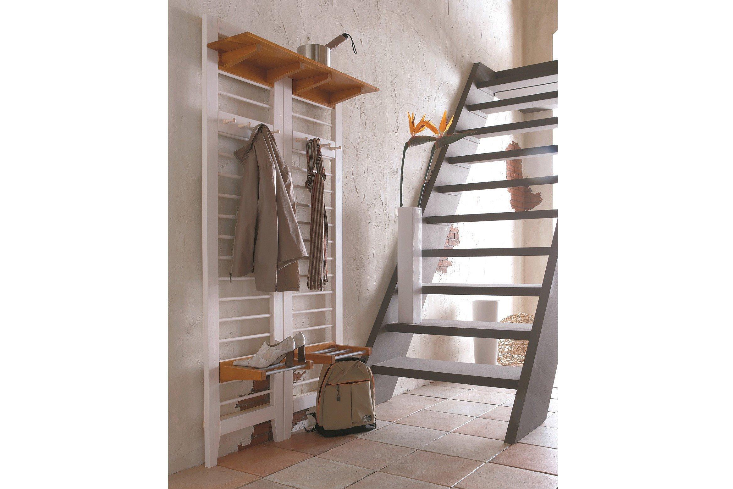 garderobe butler kiefer wei gelaugt von iversen interi r. Black Bedroom Furniture Sets. Home Design Ideas
