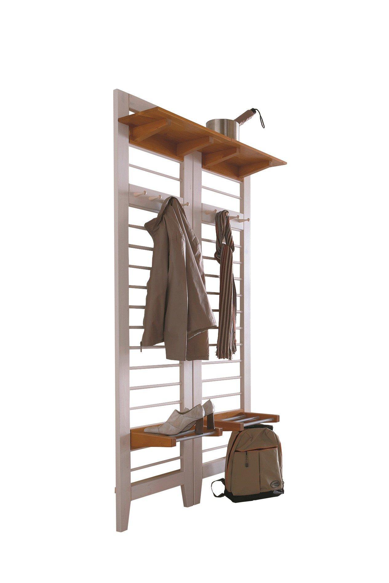 garderobe butler kiefer wei gelaugt von iversen interior m bel letz ihr online shop. Black Bedroom Furniture Sets. Home Design Ideas