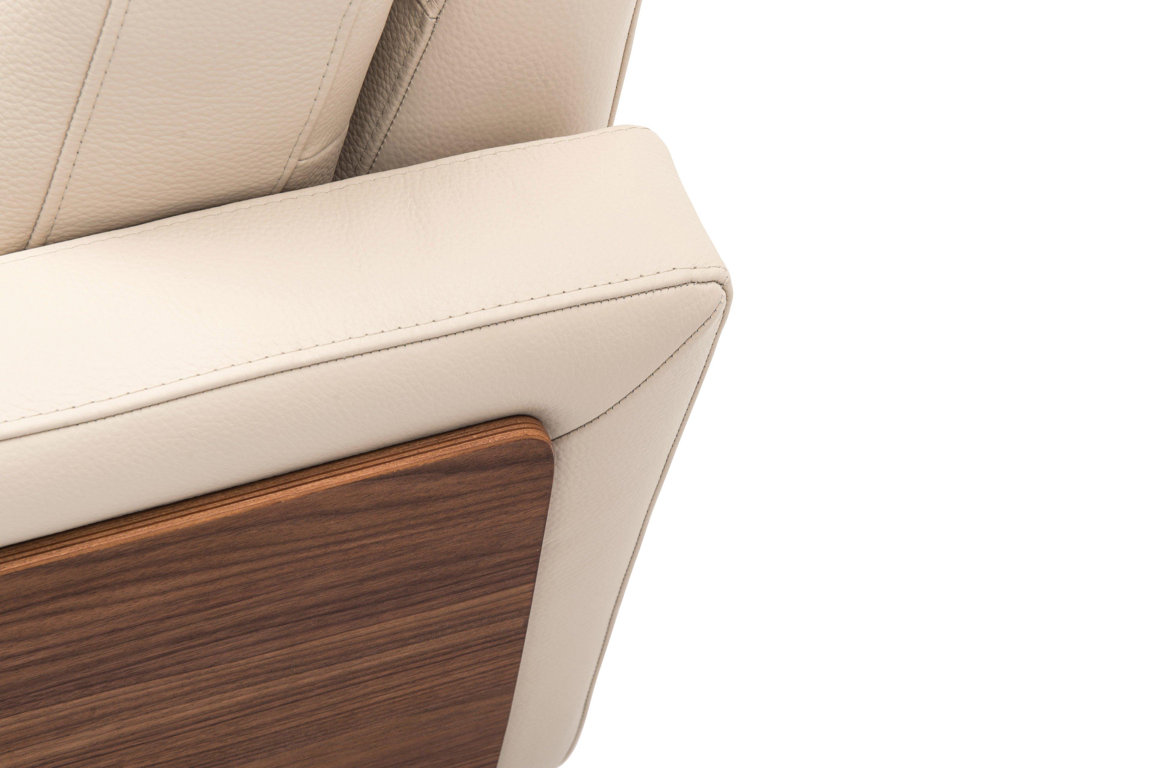 skandinavische m bel freya design sofa in creme wei. Black Bedroom Furniture Sets. Home Design Ideas
