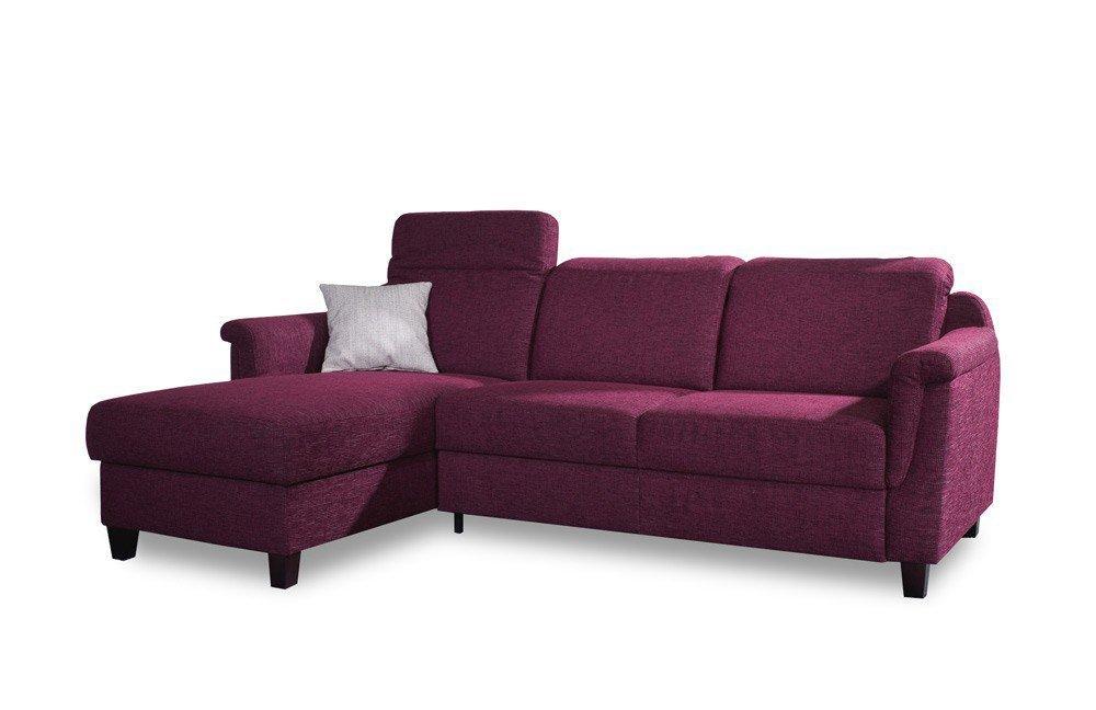 emp mosaik 38xxx ecksofa weinrot m bel letz ihr online shop. Black Bedroom Furniture Sets. Home Design Ideas