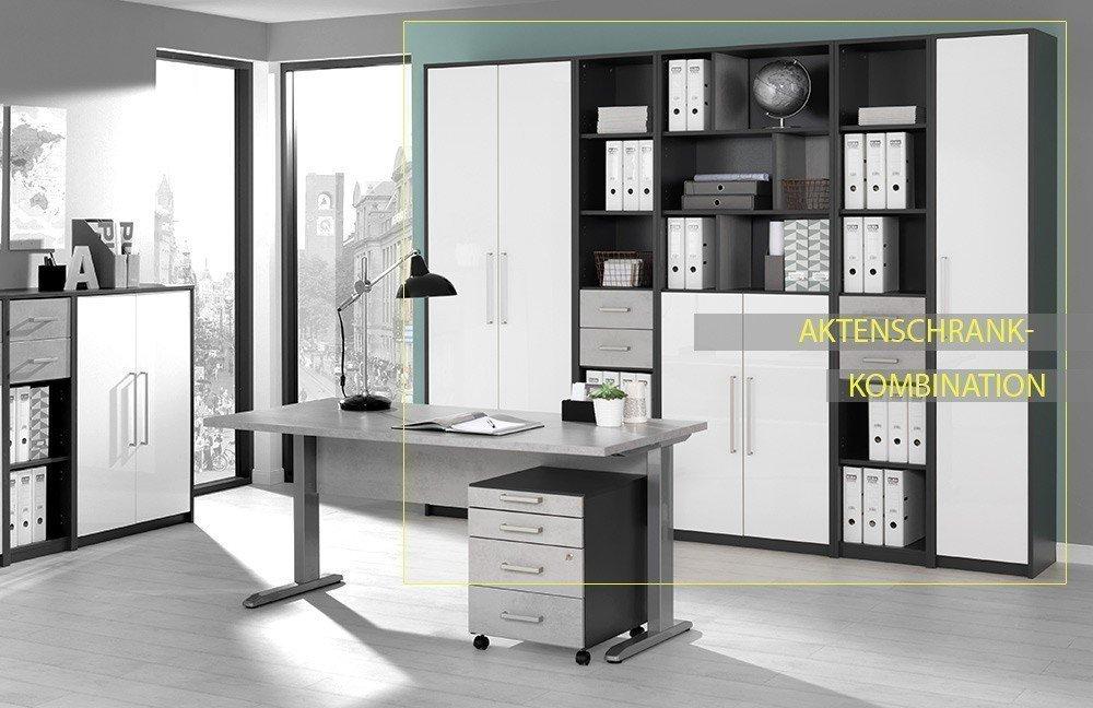 Welle Planeo Schreibtisch C-Fußgestell | Möbel Letz - Ihr Online-Shop