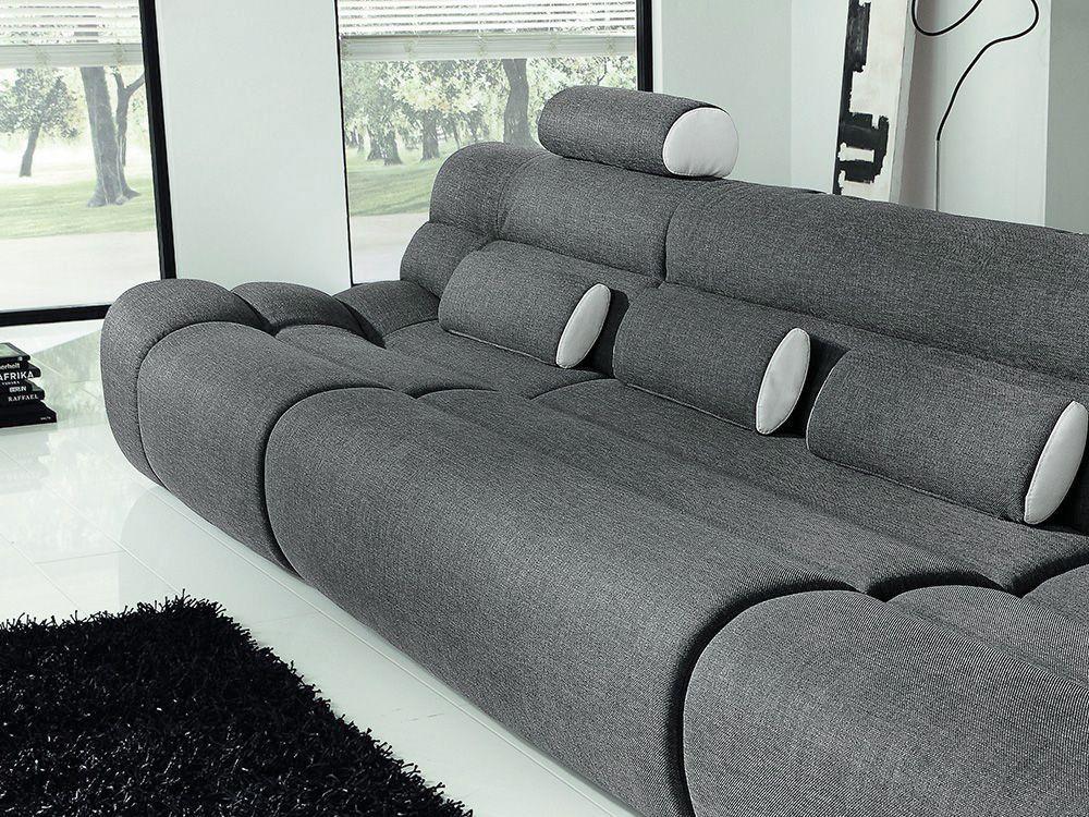 New Look Möbel Elements Sofa grau-weiß | Möbel Letz - Ihr Online-Shop