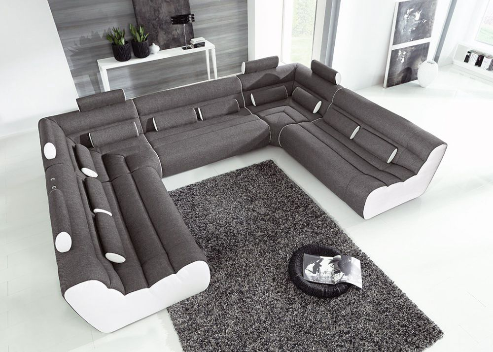 new look m bel elements sofa anthrazit wei m bel letz. Black Bedroom Furniture Sets. Home Design Ideas