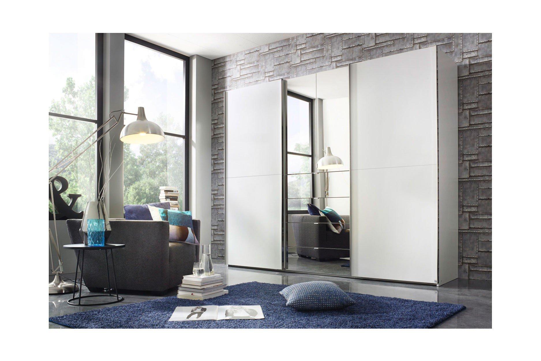 rauch baylando kombischrank wei spiegel m bel letz ihr online shop. Black Bedroom Furniture Sets. Home Design Ideas