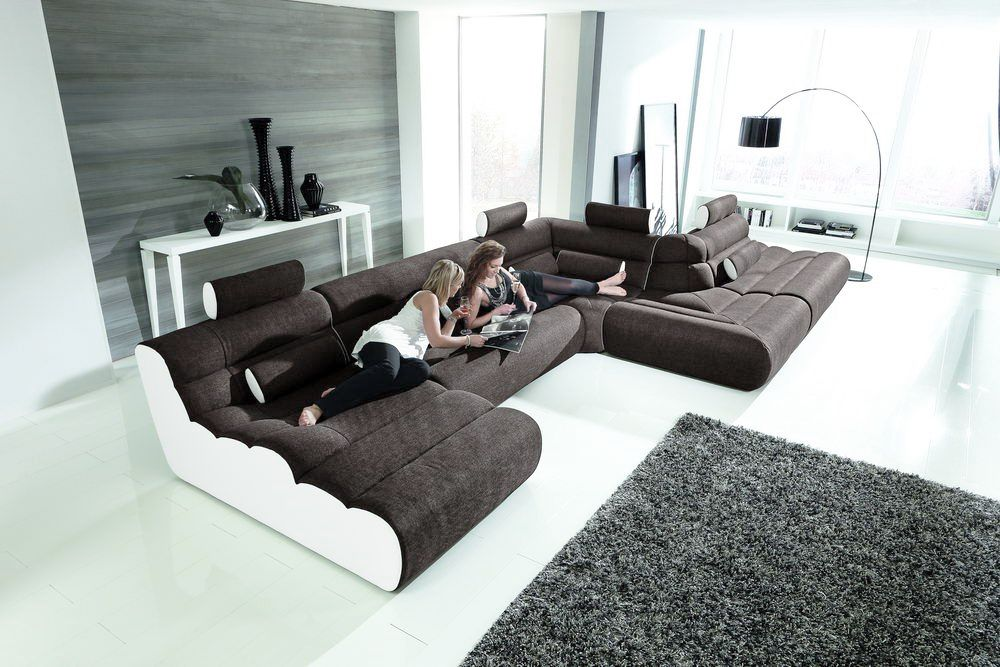 New Look Mobel Elements U Sofa Anthrazit Weiss Mobel Letz Ihr