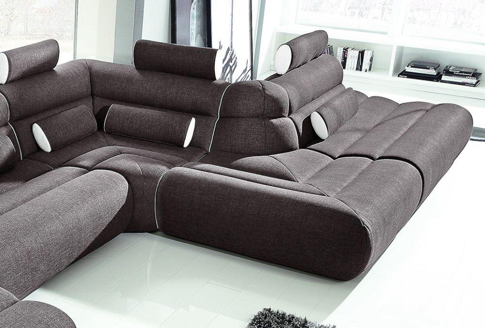 New Look Möbel Elements U-Sofa schwarz-weiß | Möbel Letz - Ihr ...
