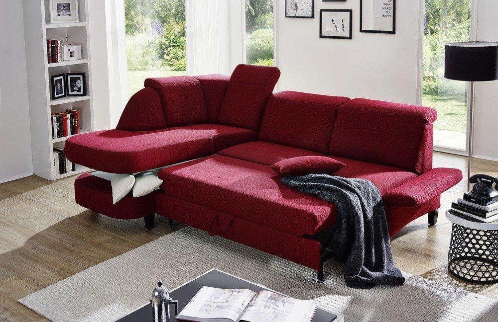 emp mosaik 38xxx eckgarnitur rot m bel letz ihr online shop. Black Bedroom Furniture Sets. Home Design Ideas