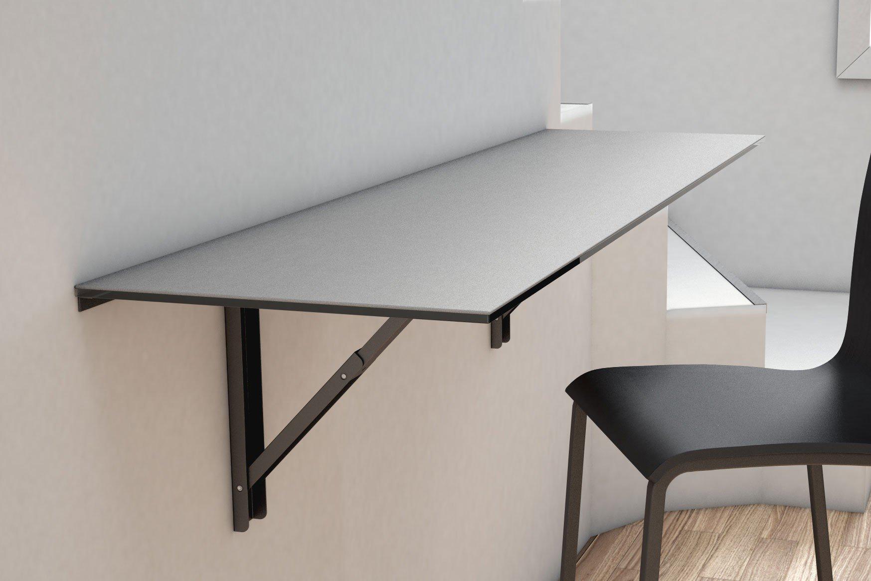 Bartisch schmal  CANCIO Klapptisch/ Bartisch Vulcano Keramik cement | Möbel Letz ...