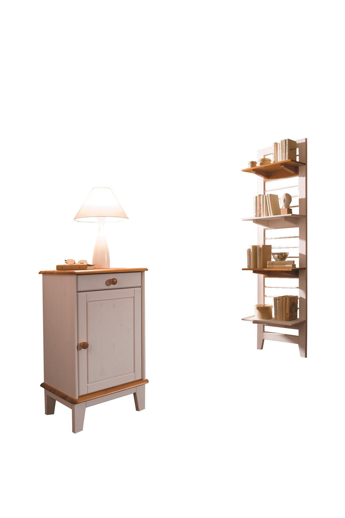 garderobe butler kiefer wei provence von iversen interior m bel letz ihr online shop. Black Bedroom Furniture Sets. Home Design Ideas