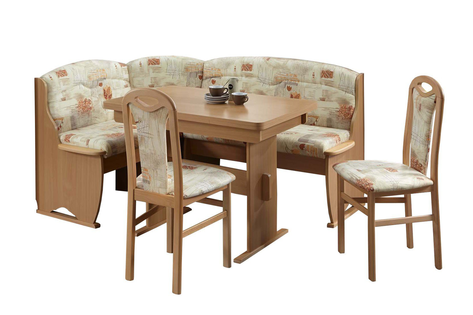 eckbankgruppe tessin von top form buche natur sandfarbig gemustert m bel letz ihr online shop. Black Bedroom Furniture Sets. Home Design Ideas