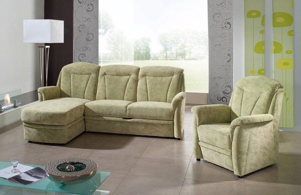 EMP Mosaik 856 Eckgarnitur grün   Möbel Letz - Ihr Online-Shop