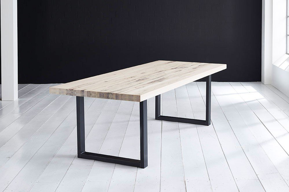 skandinavische m bel esstisch askim eiche white wash. Black Bedroom Furniture Sets. Home Design Ideas