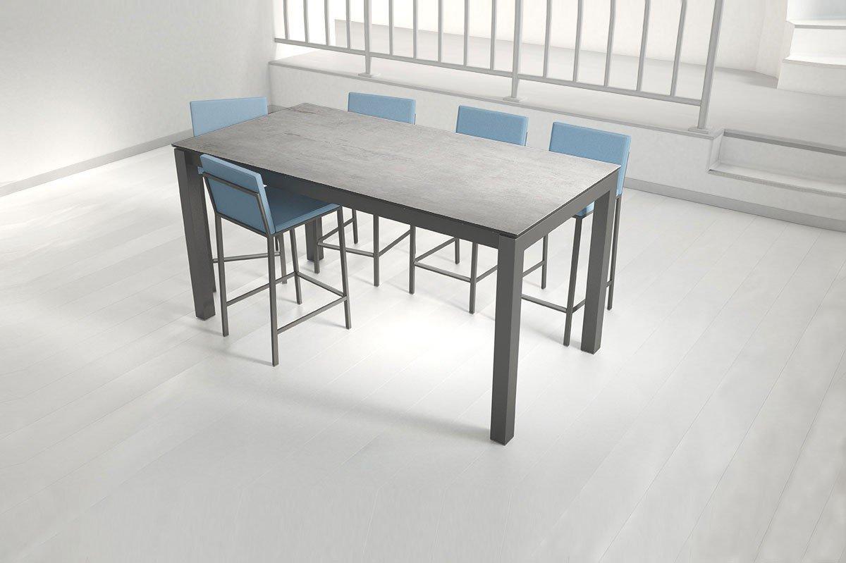 Bartisch schmal  CANCIO Coma Bartisch Keramik beton | Möbel Letz - Ihr Online-Shop