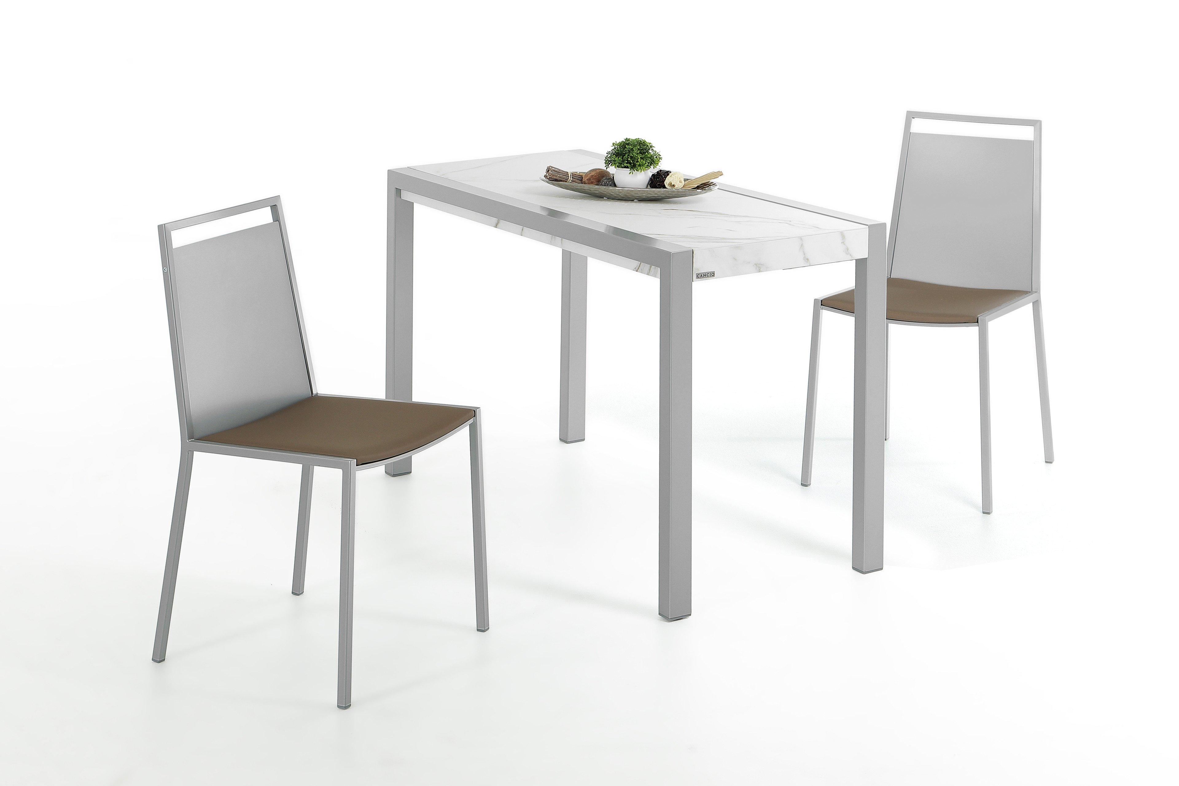 Concept Minor Von CANCIO   Tisch Keramik Calacatta, Ausziehbar