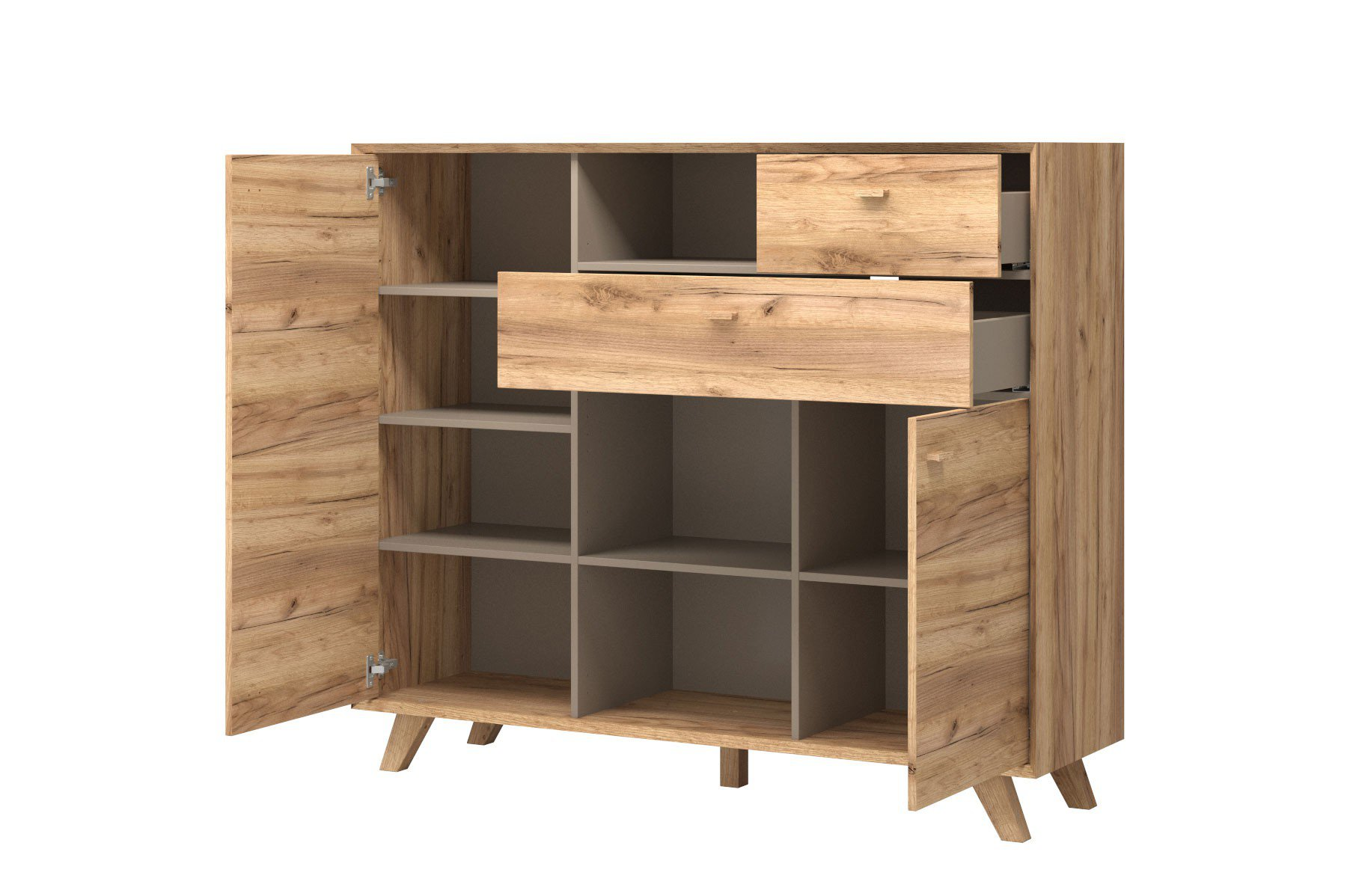 skandinavische kommode aleksi eiche m bel letz ihr online shop. Black Bedroom Furniture Sets. Home Design Ideas