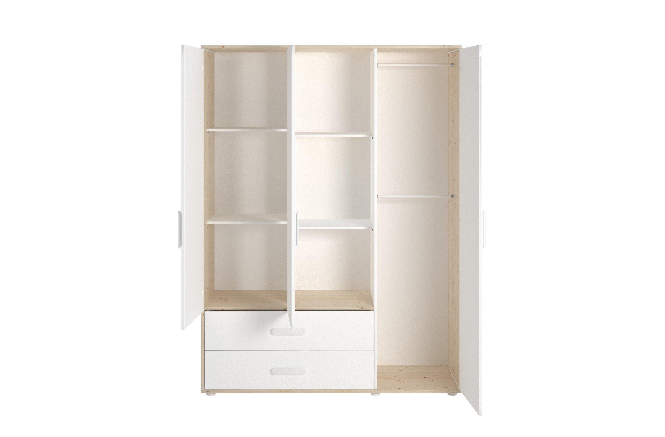 3 t riger schrank n st von flexa kiefer m bel letz ihr online shop. Black Bedroom Furniture Sets. Home Design Ideas