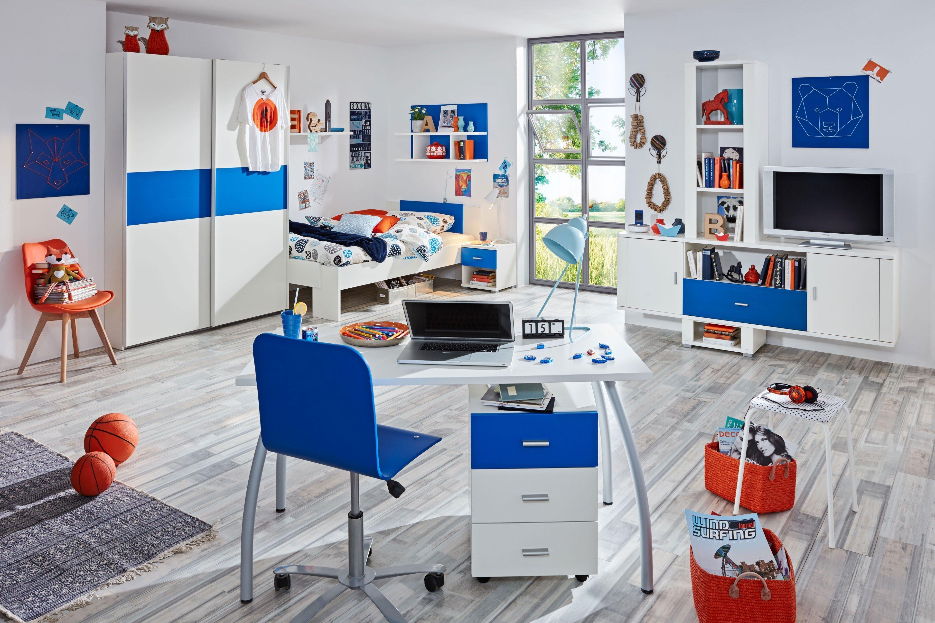 Prenneis Dustin Plus Jugendzimmer creme - blau   Möbel Letz - Ihr ...