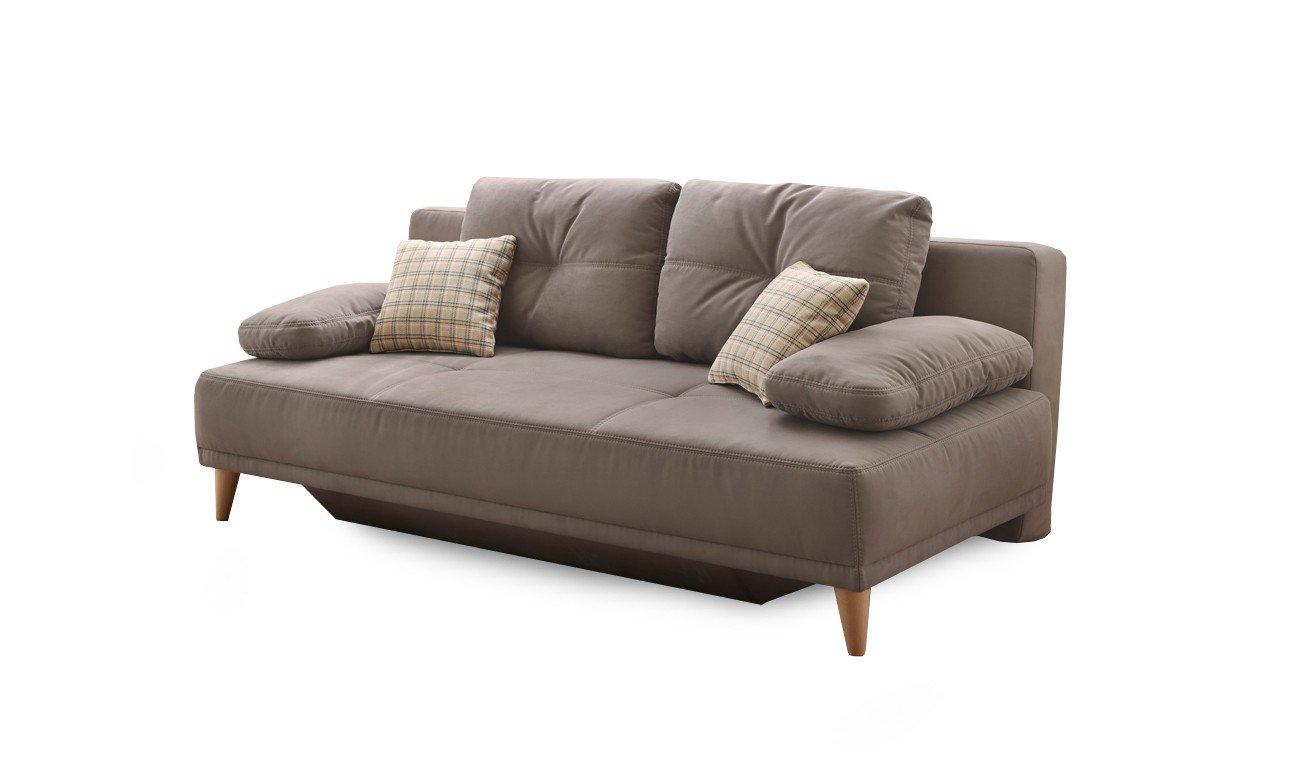 jockenh fer tom schlafsofa in greige mit bettkasten m bel letz ihr online shop. Black Bedroom Furniture Sets. Home Design Ideas
