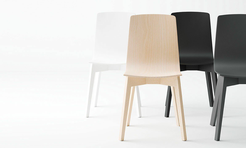Solvejg Von Skandinavische Möbel   Stuhl Buche Hell/ Weiß