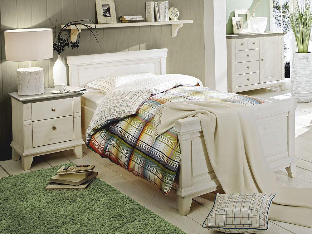 LMiE Georgia Schlafzimmer Kiefer massiv | Möbel Letz - Ihr Online-Shop