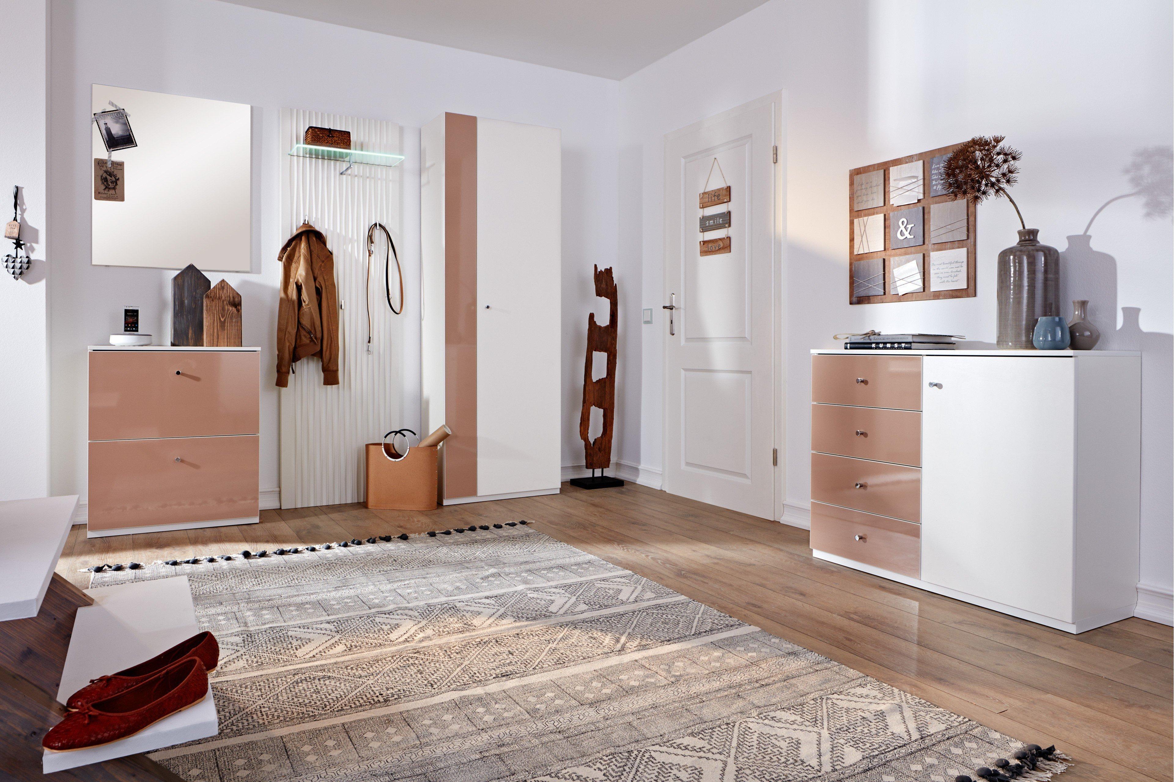 Garderobe München Plus in Creme-Weiß von Prenneis | Möbel Letz - Ihr ...
