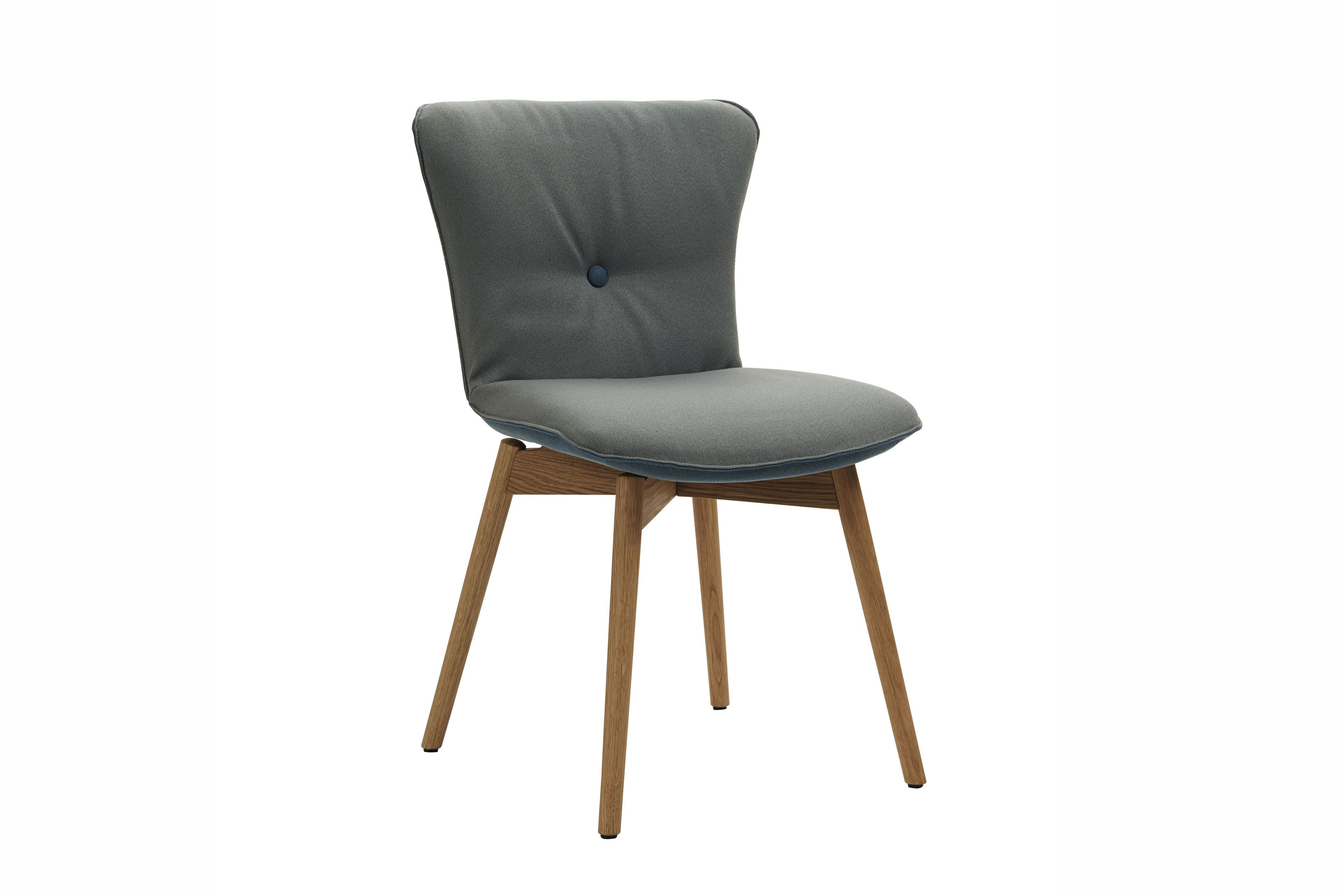 Skandinavischer Stuhl skandinavischer stuhl tjegge wildeiche bianco/ grau-blau | möbel