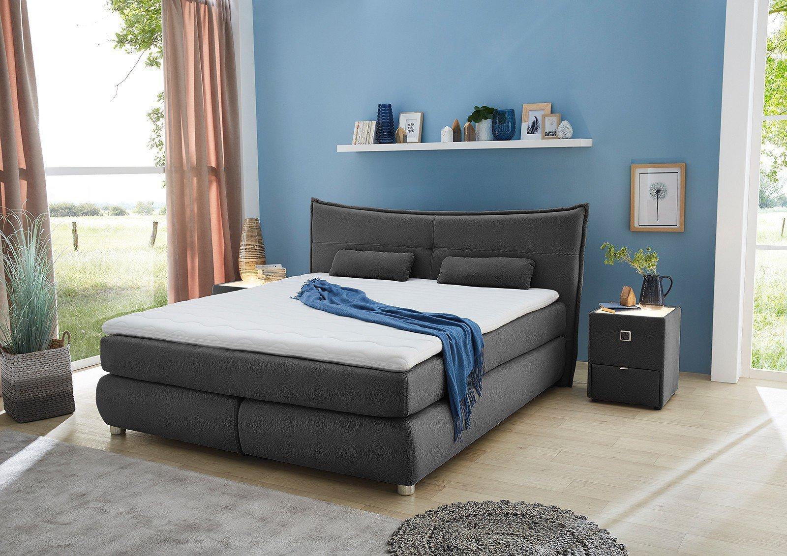 boxspringbett venetia veronika von jockenh fer inklusive. Black Bedroom Furniture Sets. Home Design Ideas
