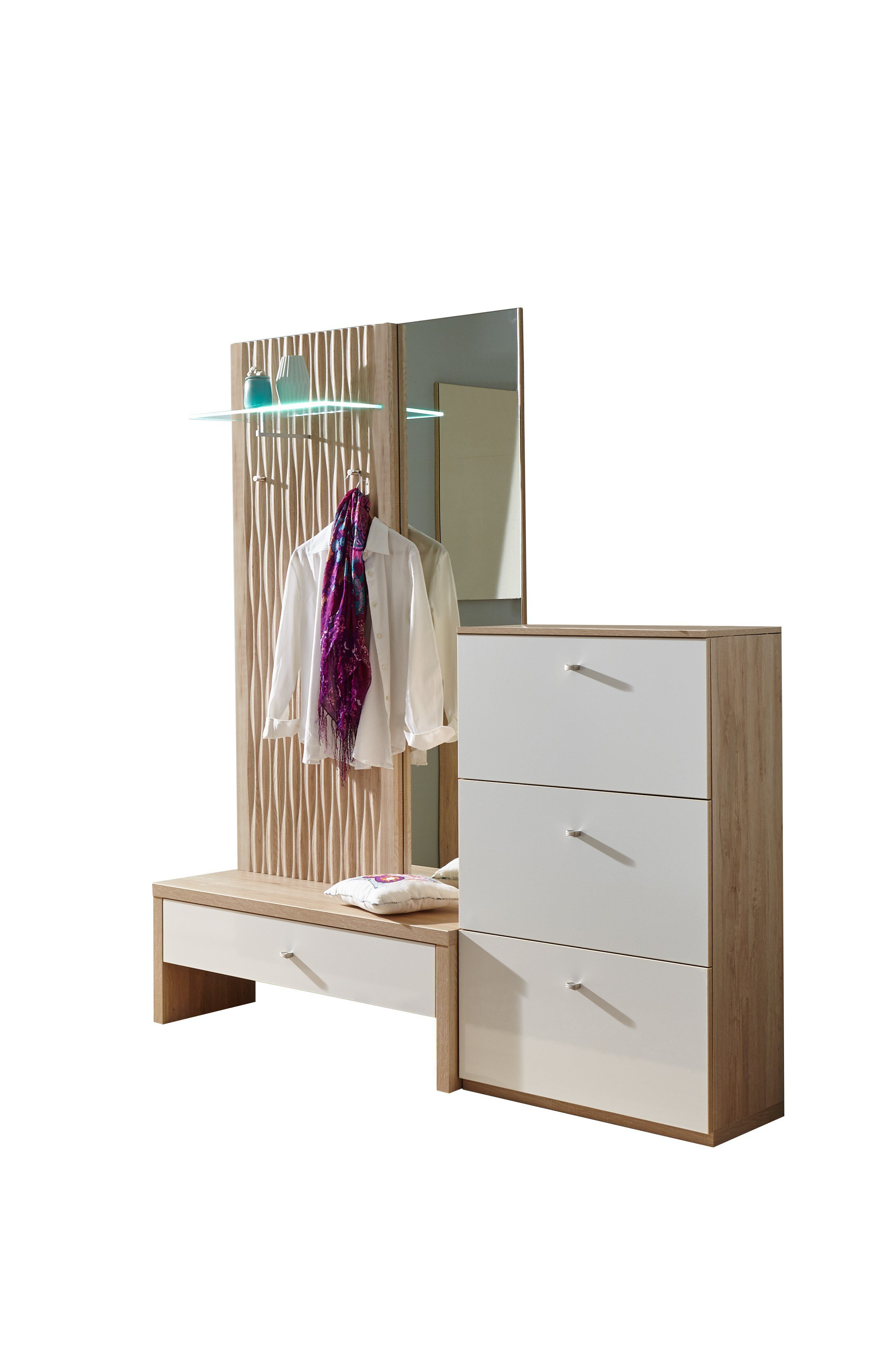 garderobe m nchen plus in sandeiche von prenneis m bel letz ihr online shop. Black Bedroom Furniture Sets. Home Design Ideas