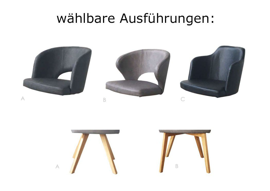 skandinavischer stuhl falun sitz ausf hrung c steingrau m bel letz ihr online shop. Black Bedroom Furniture Sets. Home Design Ideas